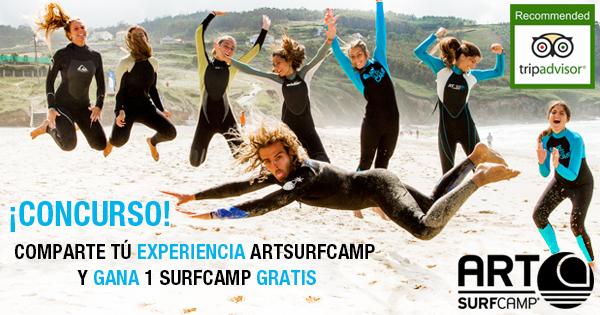 ¿Te Vienes Gratis a Nuestro Surfcamp?