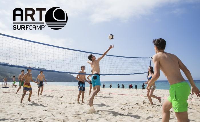 Volley playa en ArtSurfCamp