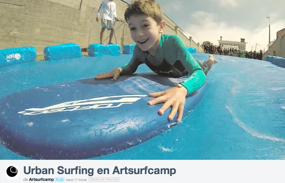 Flipando Con El Urban Surfing En Artsufcamp