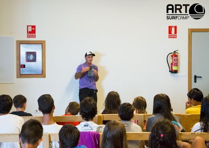 Aitor Francesena en Artsurfcamp