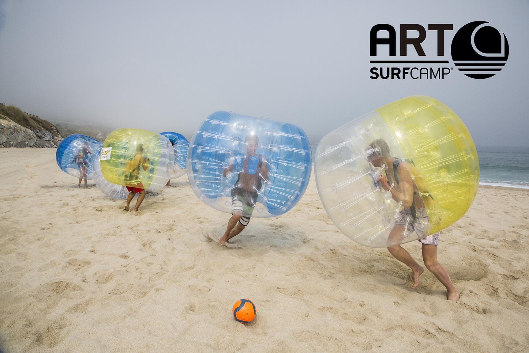 Bumper balls, La Última Novedad En Artsurfcamp