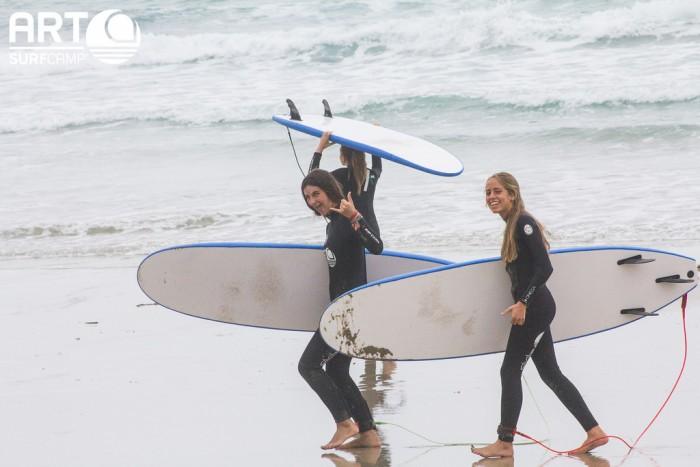 Campamentos de surf - Artsurcamp