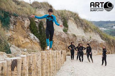Equilibrios surf - Art Surf Camp