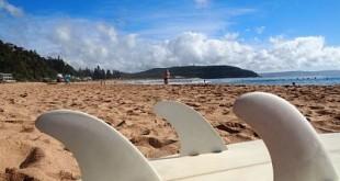 Tabla de surf y quillas - Art Surf Camp
