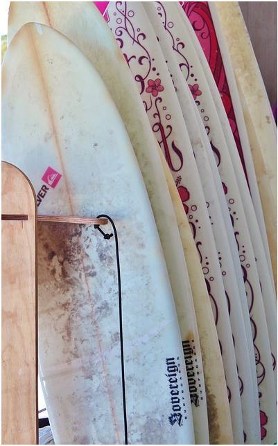 Tabla surf segundda mano - Art Surf Camp