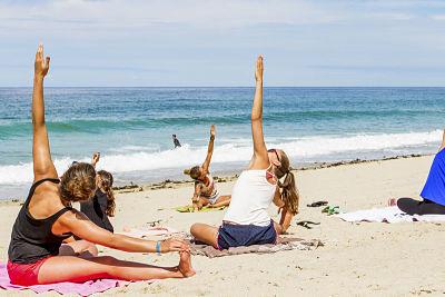 ejercicios estiramiento art surf camp