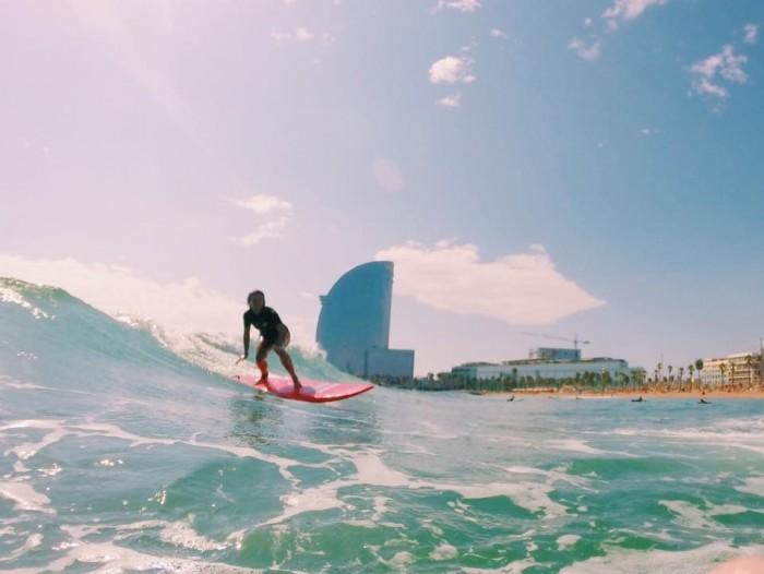 Cursos de surf de invierno barcelona - Artsurfcanp