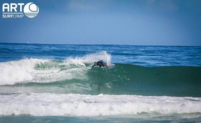 Cursos de surf en invierno - Artsurfcamp