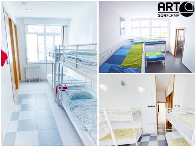 Interior instalaciones - Artsurfcamp