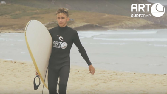 Guillermo Campra Art Surf Camp
