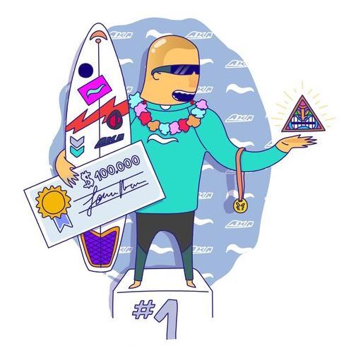 el surfer Pro