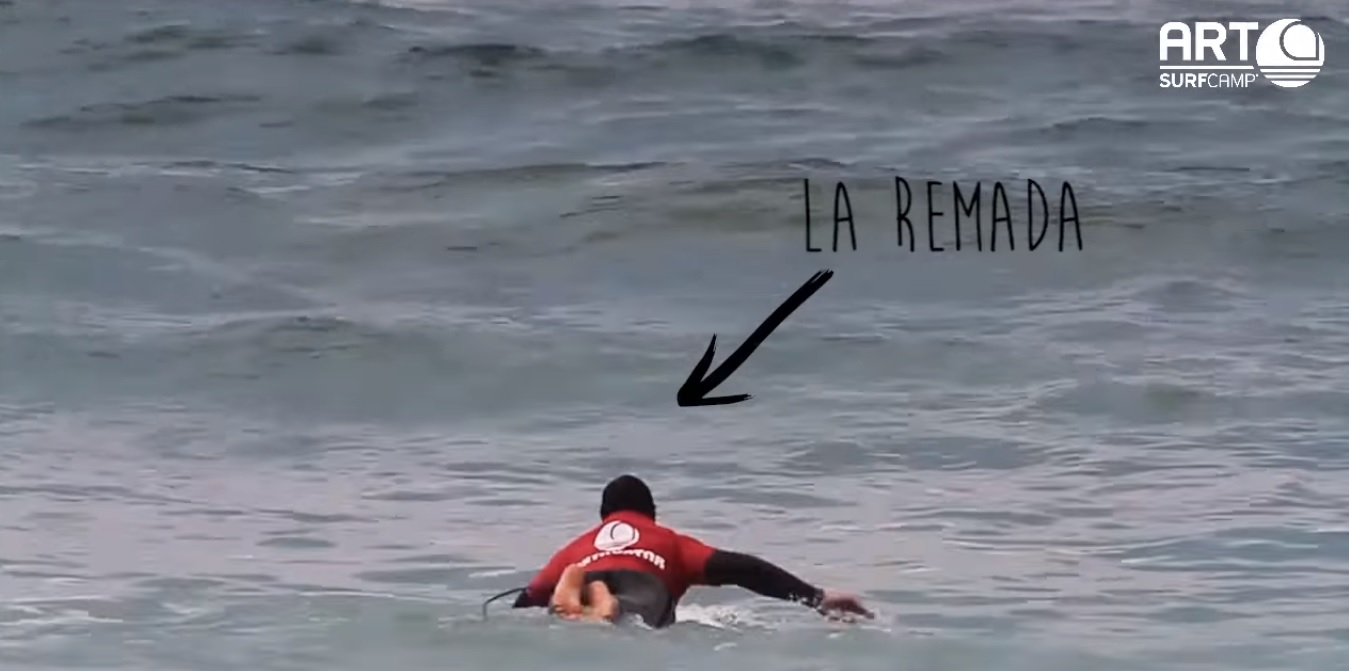 Video Tutoriales De Surf Online. La Remada De Surf