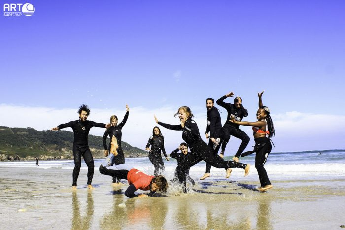 Playas de Galicia para hacer surf. razo