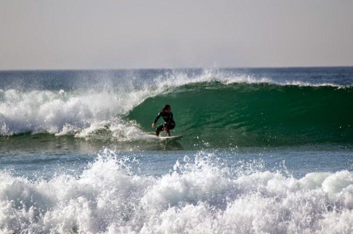 Playas para surfear en Galicia. A Lanzada