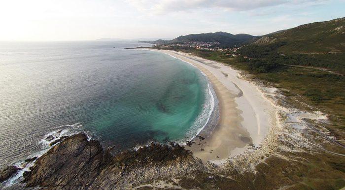 Playas para surfear en Galicia. O Faro de Lariño y Ancoradoiro 2