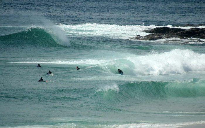 Playas para surfear en Galicia. O Faro de Lariño y Ancoradoiro