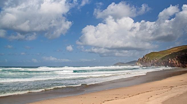 Playas para surfear en Galicia. O rostro 2