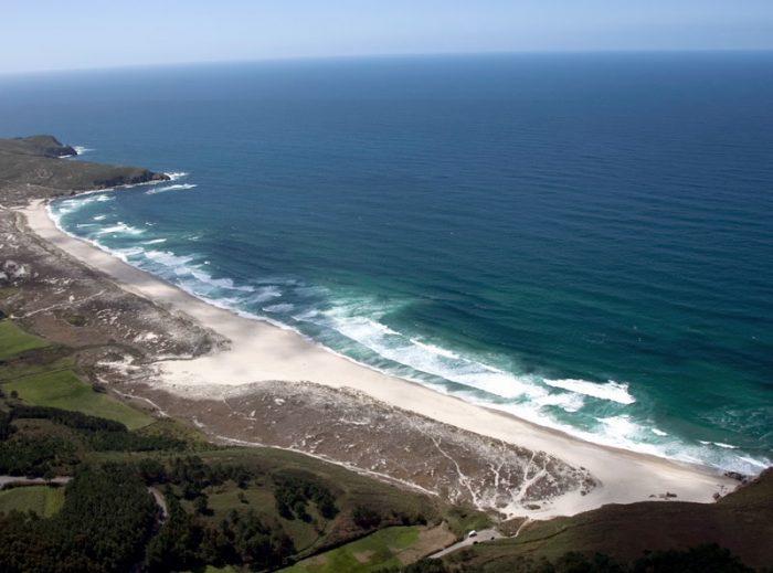 Playas para surfear en Galicia. O rostro