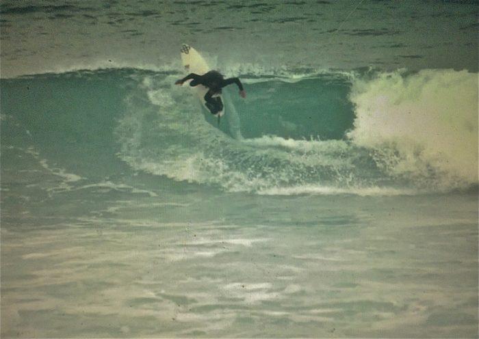 Playas para surfear en Galicia. Sabón