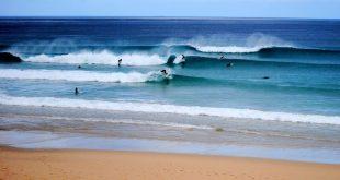 Playas para surfear en Galicia. razo