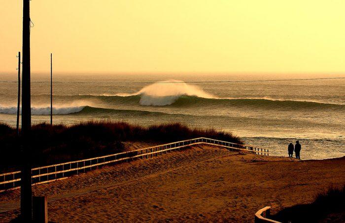 Playas para surfear en Galicia. Doniños 2