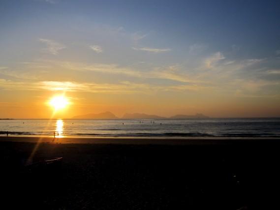 playas para surfear en Galicia. Patos