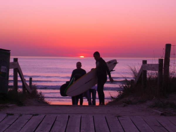 Playas para surfear en Galicia. A Lanzada 2
