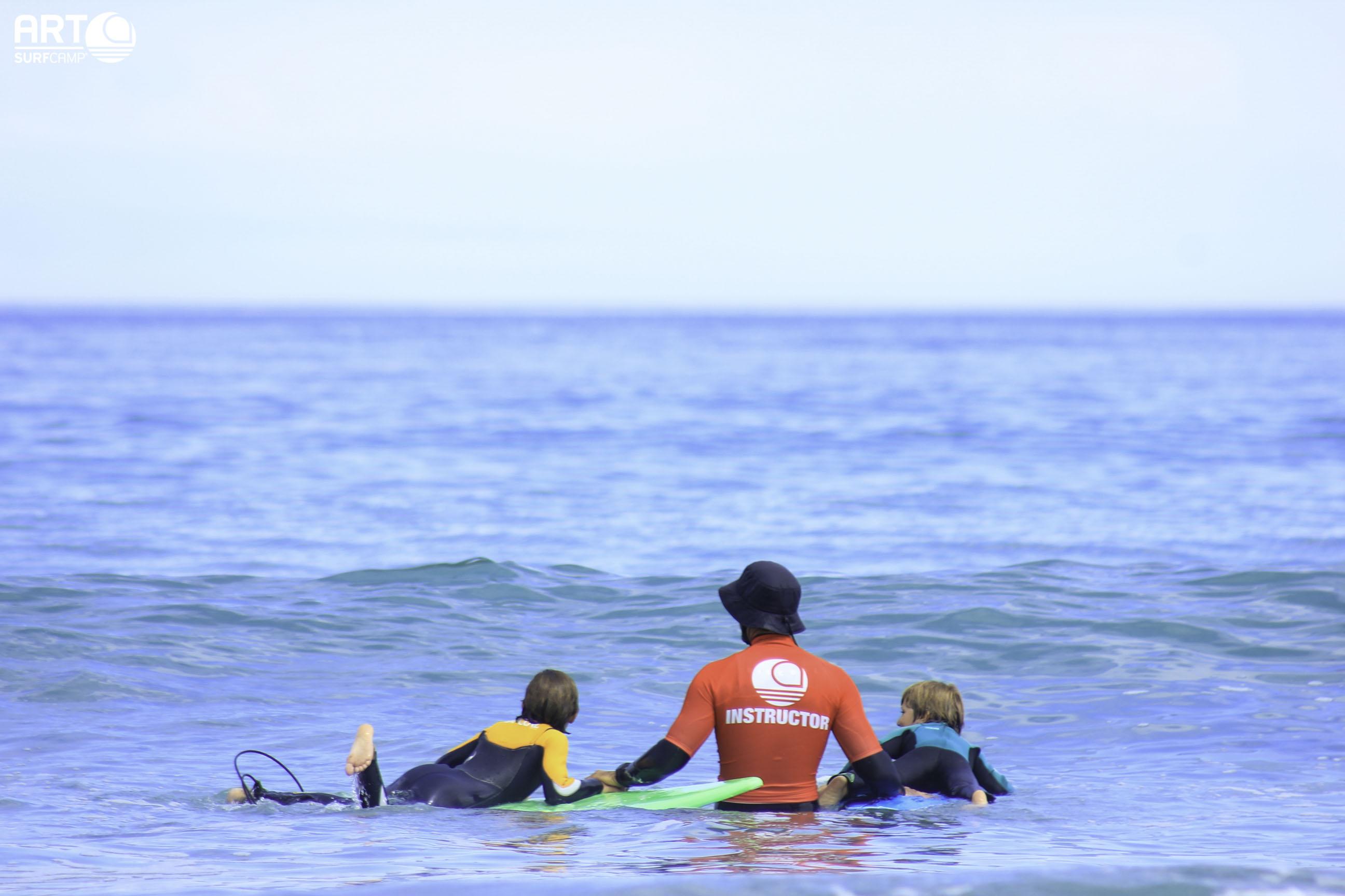 Los Niños y El Surf, ¡Cuanto Antes Mejor!