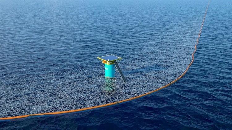 Ocean Cleanup Pretende Eliminar La Mitad De Los Residuos Plásticos Del Pacífico en Menos De 5 Años