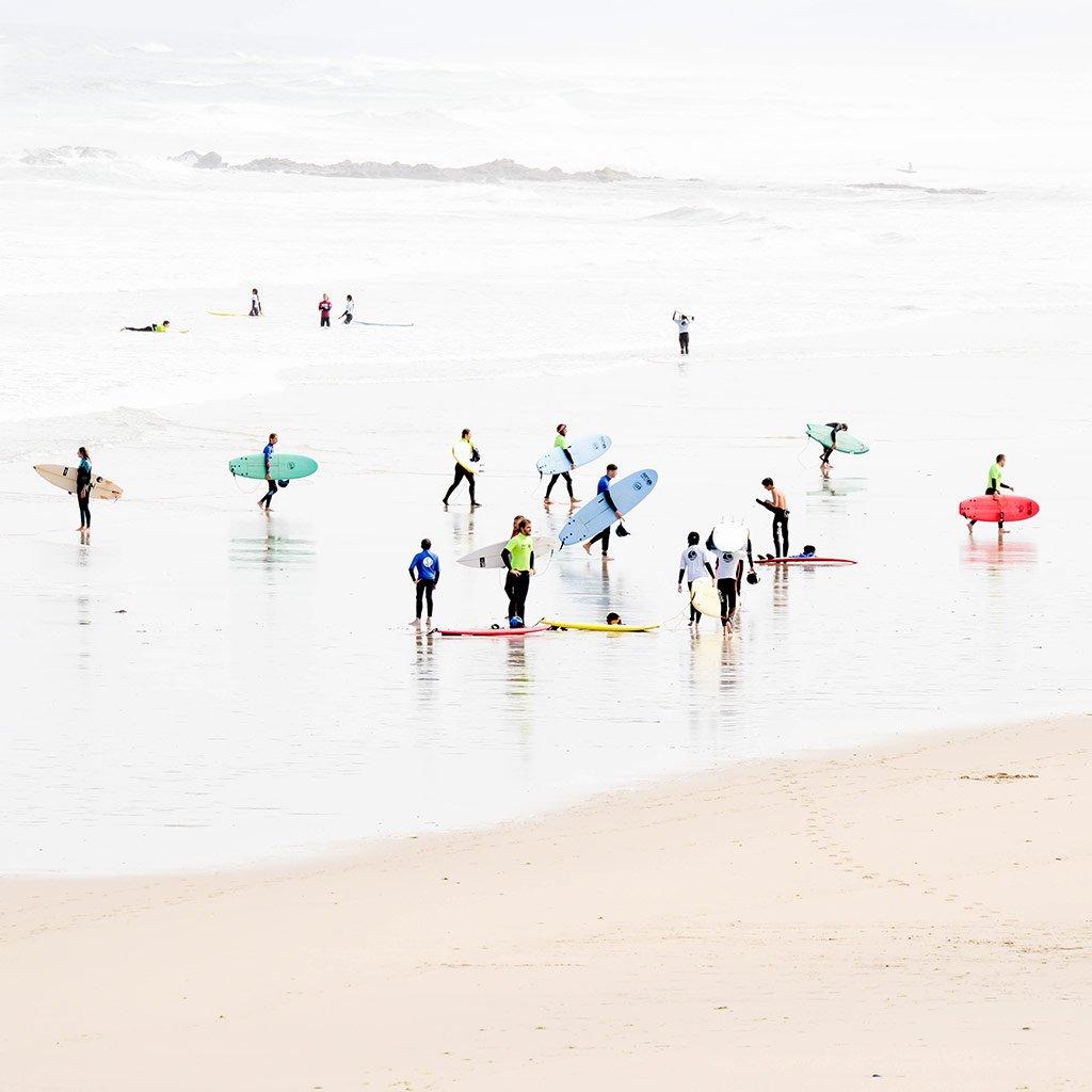 Surf & Surfskate Trip Con Artsurfcamp y Carving Social Club