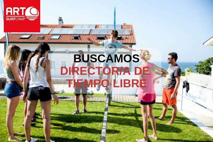 ¿Te Gustaría Ser Director/a De Tiempo Libre En Artsurfcamp?