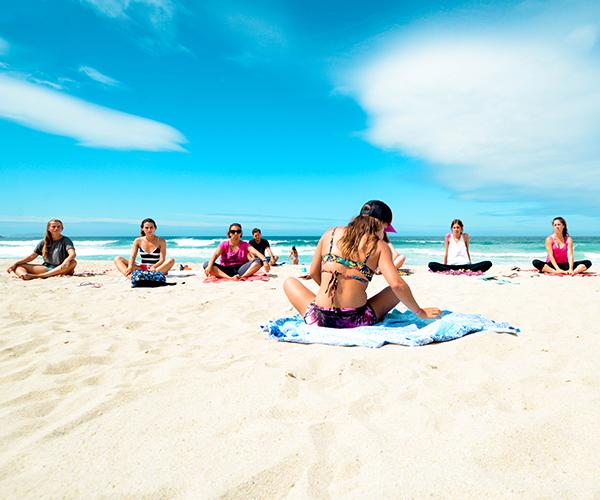 stretching escuela de surf