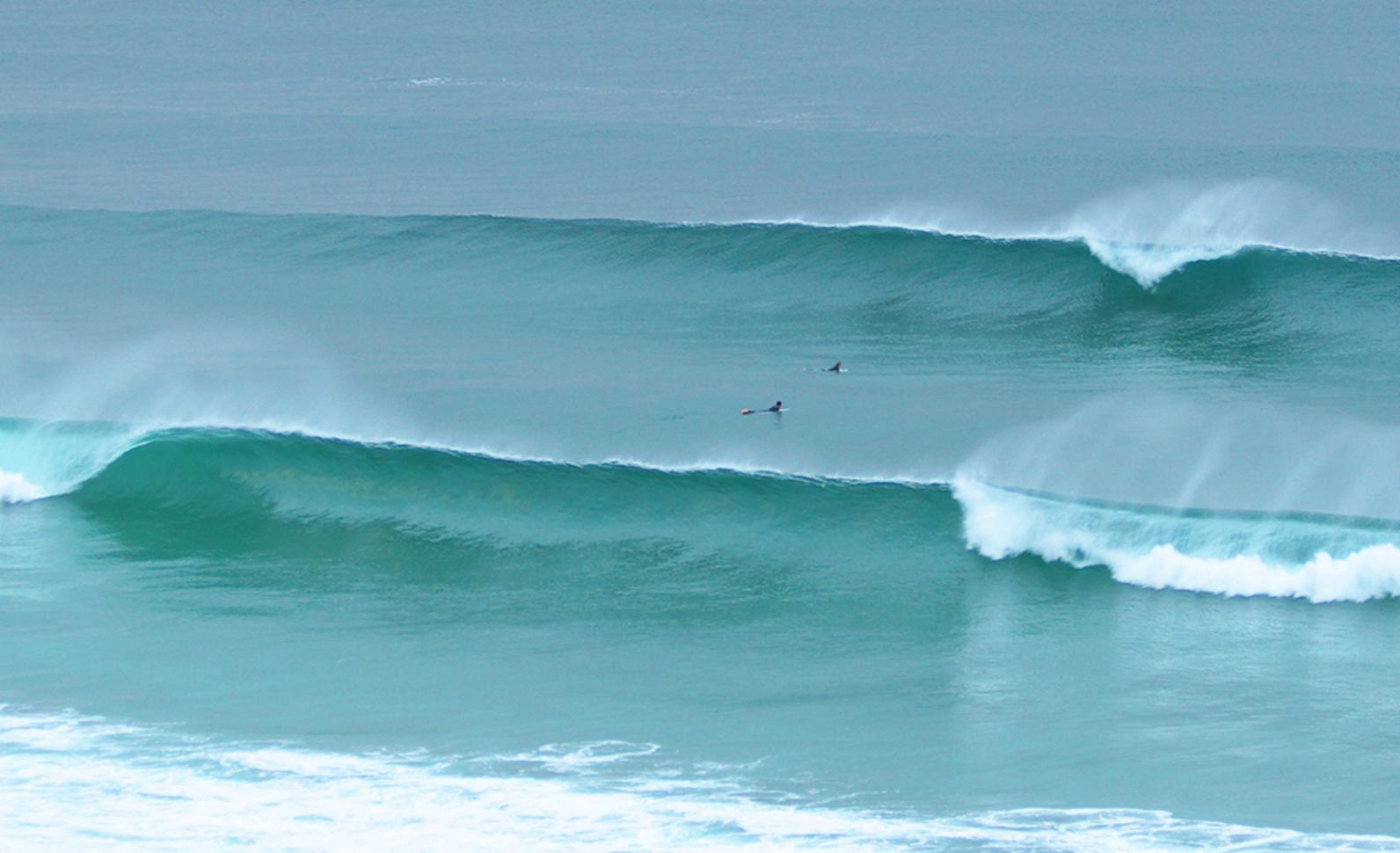 Surf En La Playa De Razo
