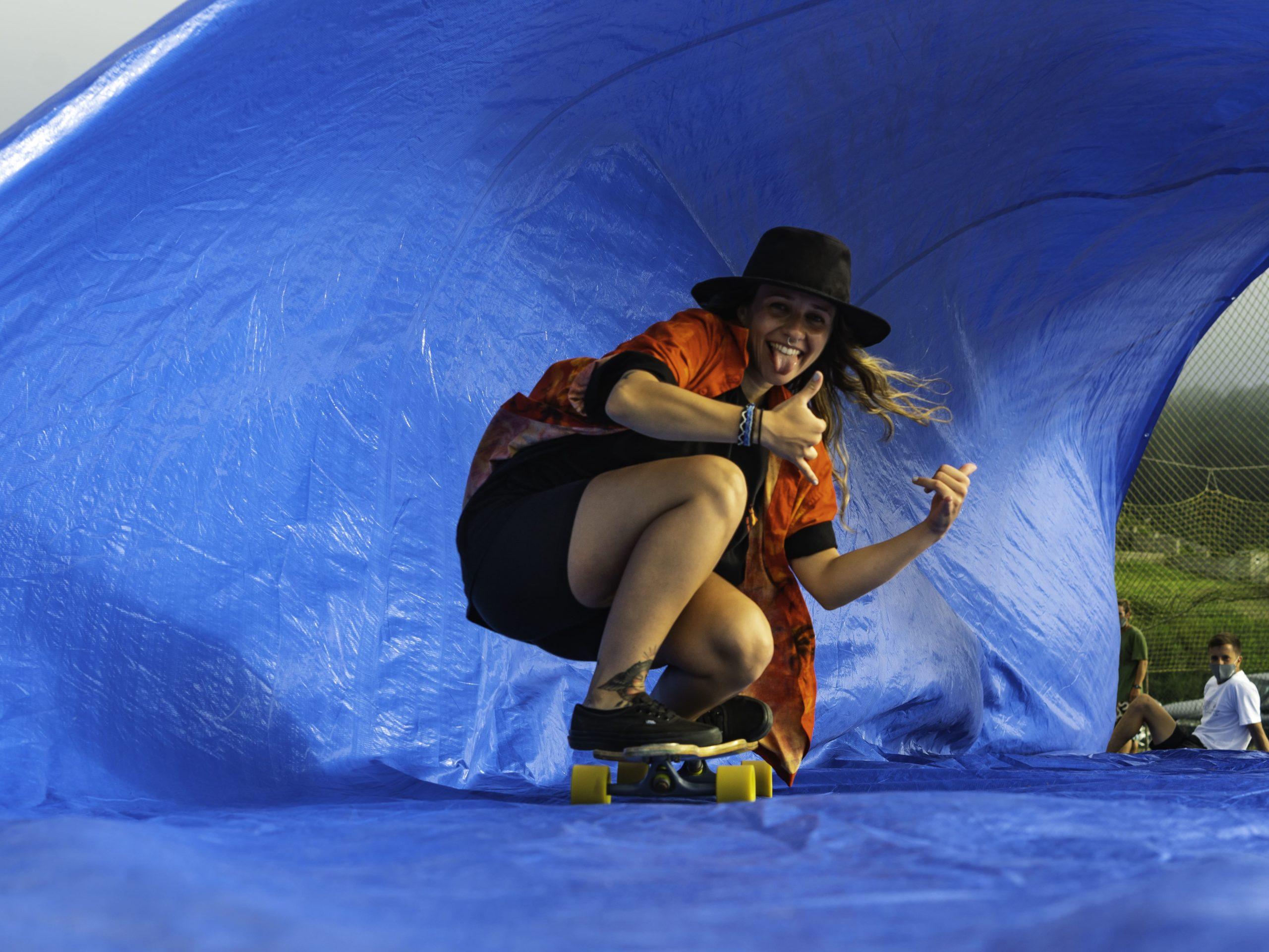Increíble El Tarp Surfing En Artsurfcamp