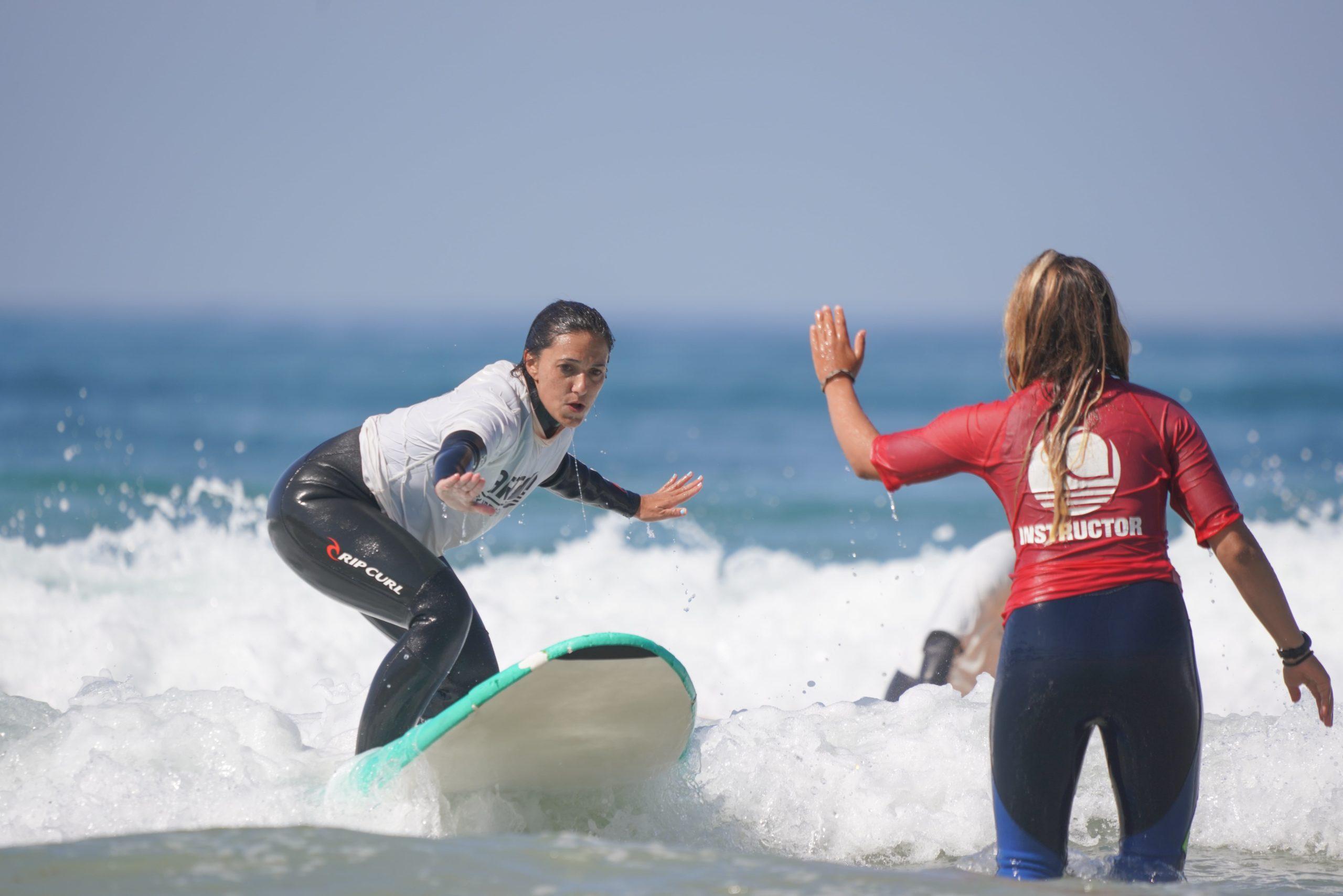 Clases De Surf De Iniciación En Artsurfcamp