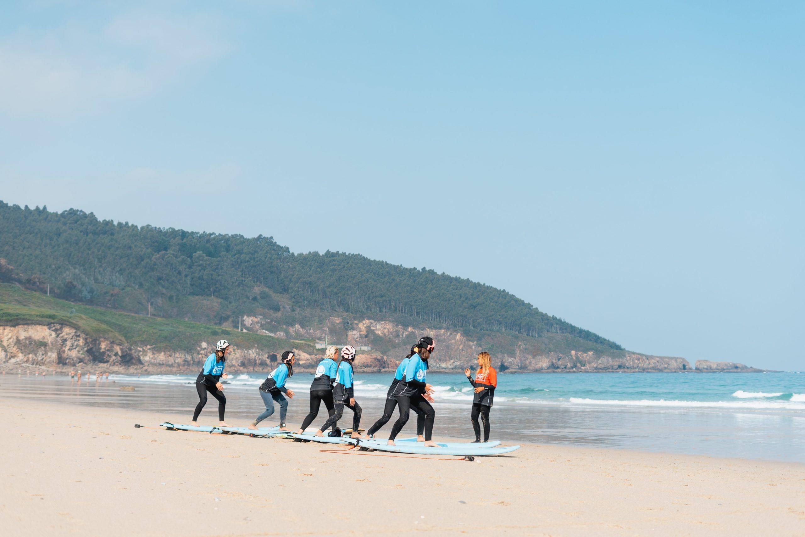 Ejercicios De Calentamiento Previos Al Surfing