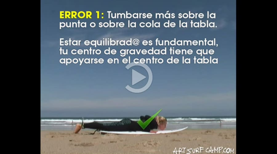 Video tutorial | Levantarse en la Tabla de Surf